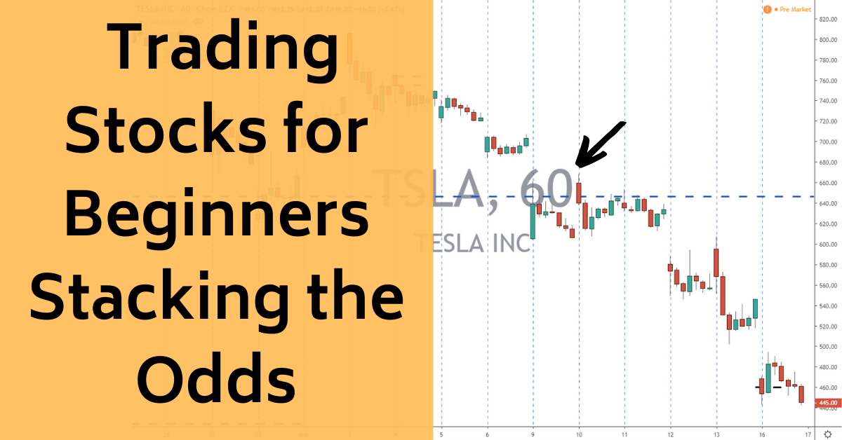 trading stocks for beginners stacking the odds