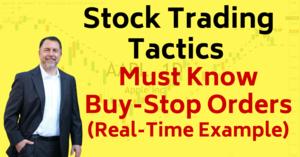 Buy Stop Orders Stocks for Breakfast