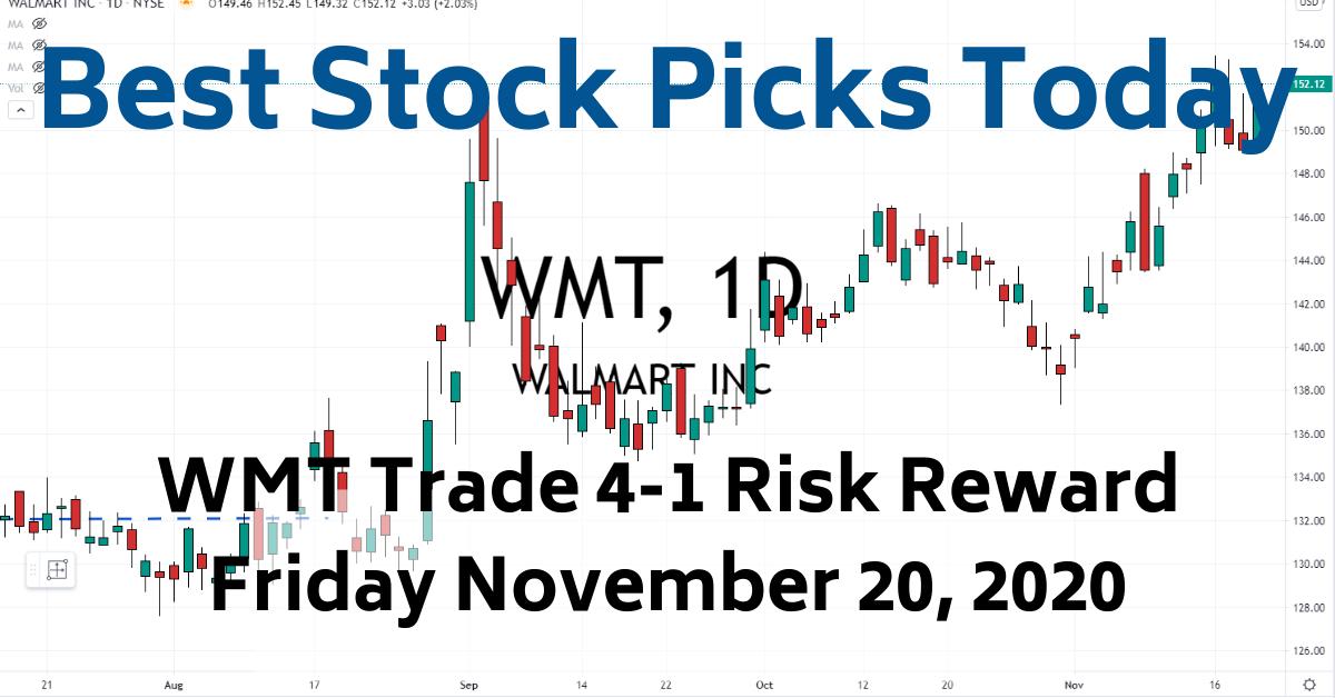 WMT Trade Best Stock Picks Today 11-20-20