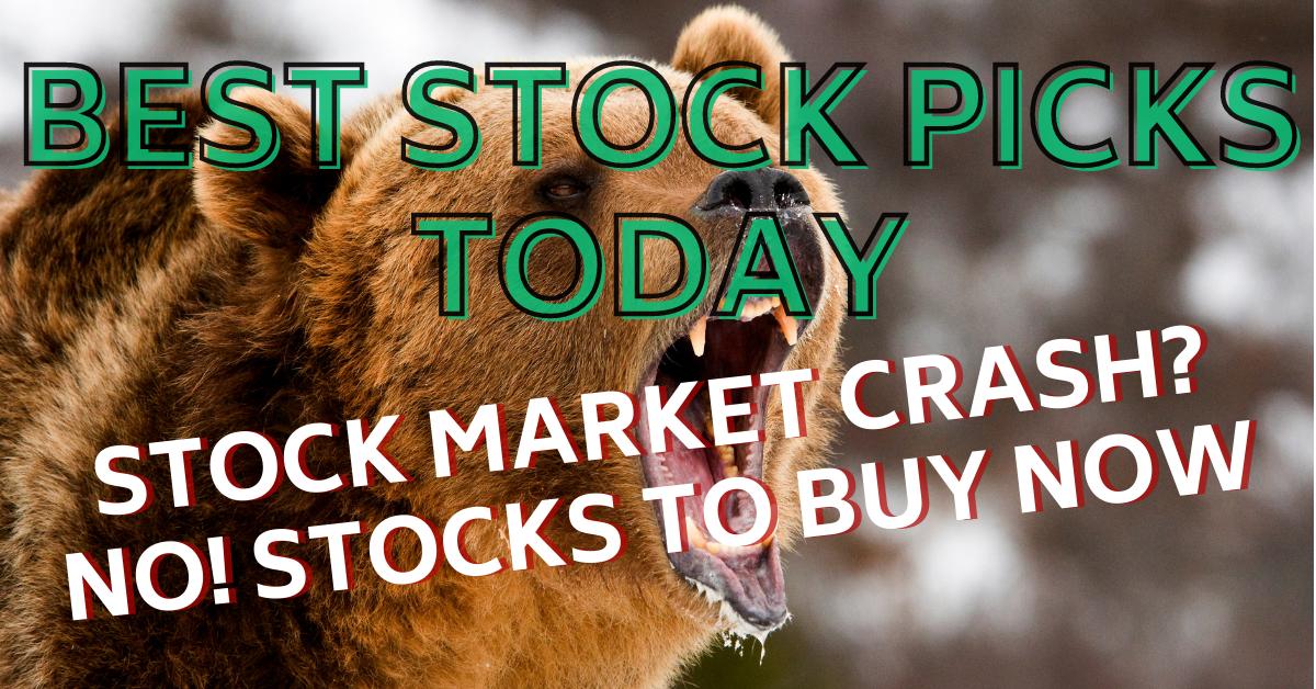 Stock Market Crash Best Stock Picks Today 3-4-21
