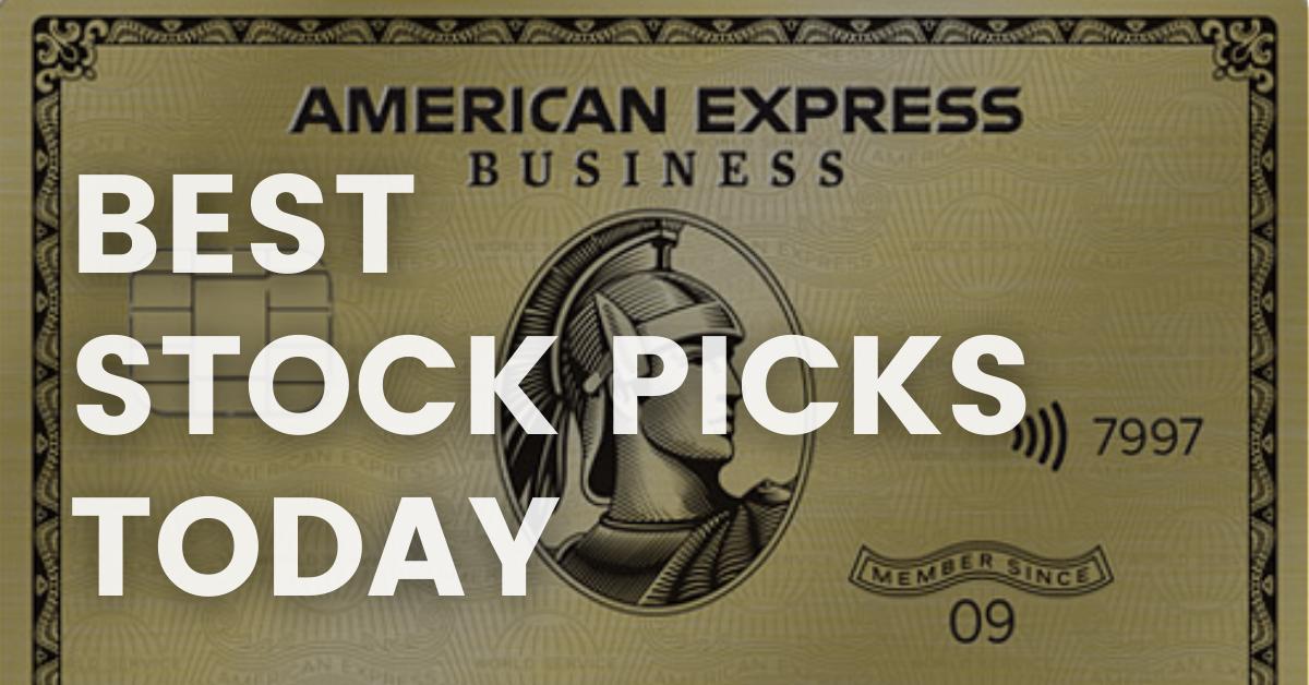 AXP Stock Earnings BEST STOCK PICKS TODAY 4-23-21